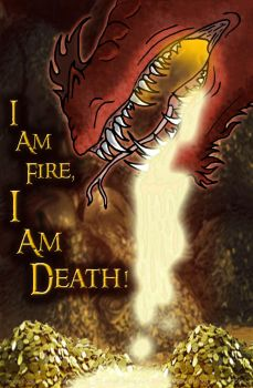 FA-Smaug The Magnificent by DragonHeartLuver