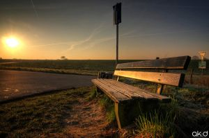 Park Bench by Mob1