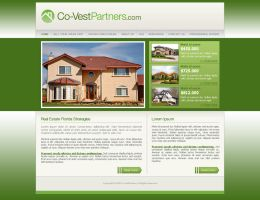 CoVestPartners web template by djnick2k