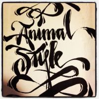 ANIMAL STYLE LOOKING  GOOD! by draweverywhere