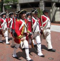 Revolutionary War Soldiers 1 by hever-stock