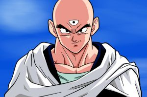 Tien Shinhan by Dark-Crawler