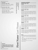 Creative Resume by rkaponm