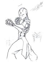 Iron Monk by DrawlinesMisfits