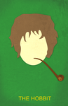 The Hobbit Minimalist Movie Poster by BennyJayKay