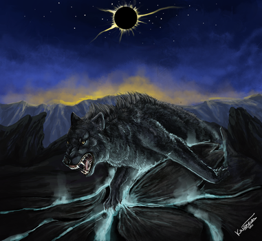 Fenrir by Efflorescenc3