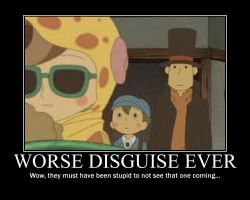 Professor Layton: Disguise by Clive4everLegal