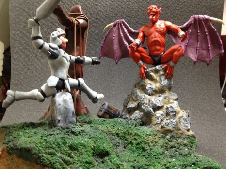Diorama Ghouls and Ghost by AntuanBuilder
