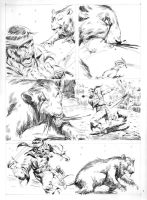 ESCAPE TO MADNESS pencils 08 by benitogallego
