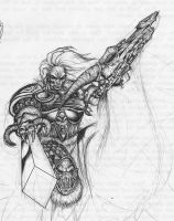 King Arthas Ballpen by radblade