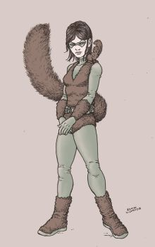 Squirrel Girl by RamonVillalobos