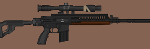 Sniper Rifle for my Haven Series. by VenomArgy