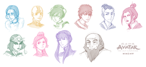 Avatar [Headshot Sketches] by chetom