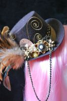 Kanzashi Top Hat Redux by thedrunkenprincess