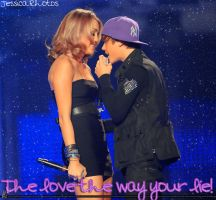 Justin and Miley by Forever-editt
