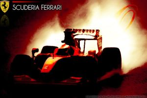Scuderia Ferrari Wallpaper. by Otani5