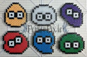 Dr. Robotnik's Mean Bean Machine - Beans by PerlerPixie