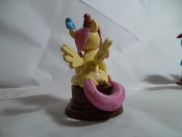 Fluttershy statuette back by McMesser