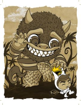 where the wild things are by ckeiji