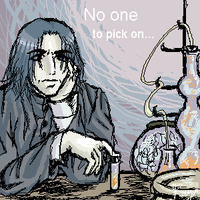 No one to pick on by ruya