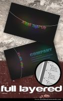 New Light Business Card by Freshbusinesscards