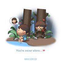 You're Never Alone by hjstory