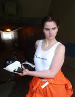Chell 3 by Angelic-Obscura