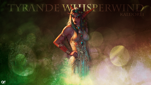 World of Warcraft - Tyrande Whisperwind by deSess