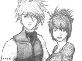 Naruto: Kakashi and Anko by RyesAsylum