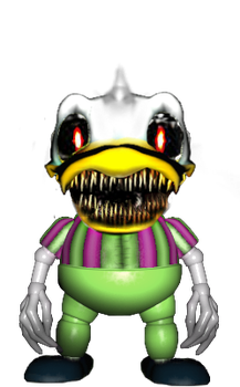 Nightmare DuckBoy by CuckootheBirb