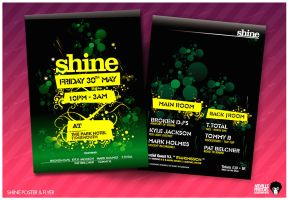 Flyer : Shine 08 by nofx