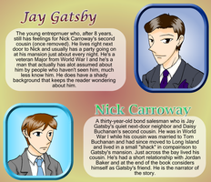 Gatsby + Nick Character Pages by VampiricYoshi