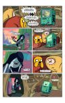 Ka-Boom Adventure Time Test Script Page 1 by BrianLee88