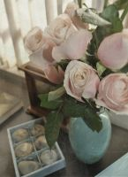 Flowers in my office... by nandrysha