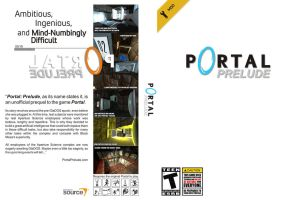 Cover for Portal: Prelude by tuanews