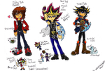 3 duelists by AnimeLover594
