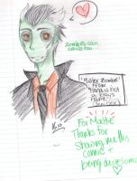 Zombie POWAH. by Lalune-hime