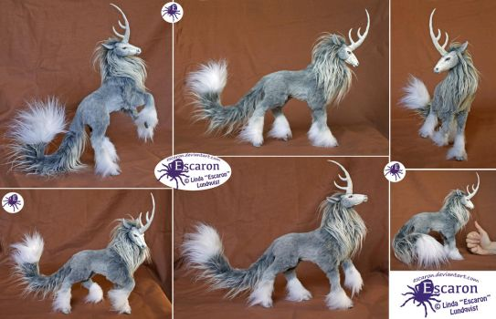 Uniqorn Steed - Posable Art Doll (SOLD) by Escaron