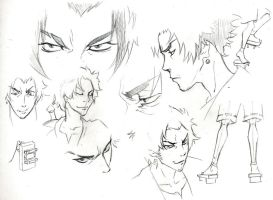 Sketches 27 - Endless Mugen by Azizla