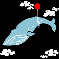 Blue Whale Shirt by froggyk