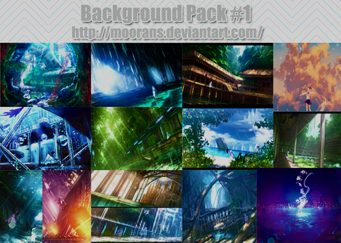 Background Pack #1 by MooranS