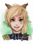 Headshot Commission for HylianArtist 4 by fayesotheraccount