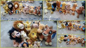 The Lion King Small plush by Vesperwolfy87