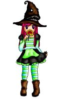 Mad Hatter Witch by MindlessFog