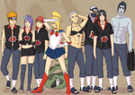Akatsuki's new outfits by steampunkskulls