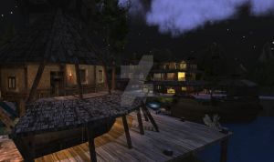 Stronghaven By night by TERABBS