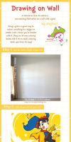 Drawing on wall (Tutorial) by Joyfool