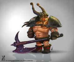 Character Design Viking by SimonLoche