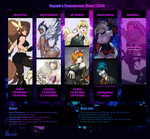 Commission Sheet 2014 by Rayzoir