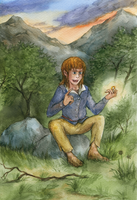 The hobbit and the ring by pranDIV